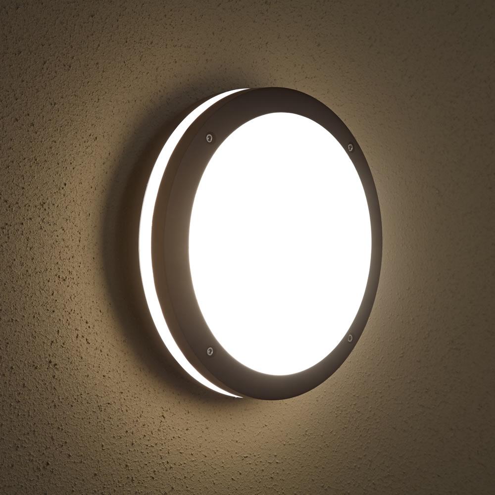 Biard Architect IP54 Outdoor Wall Light - Round