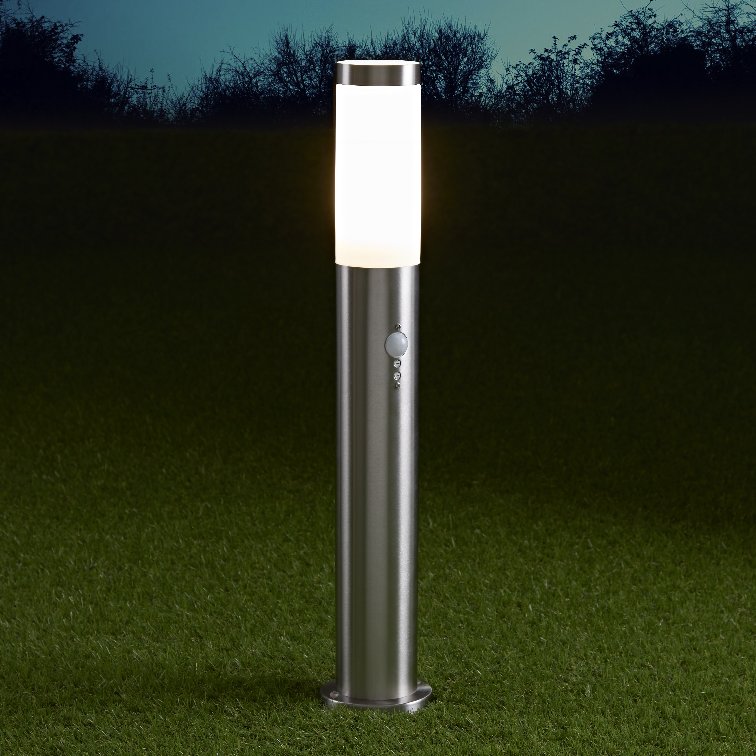Biard Le Mans IP44 Bollard Light with PIR - 600mm