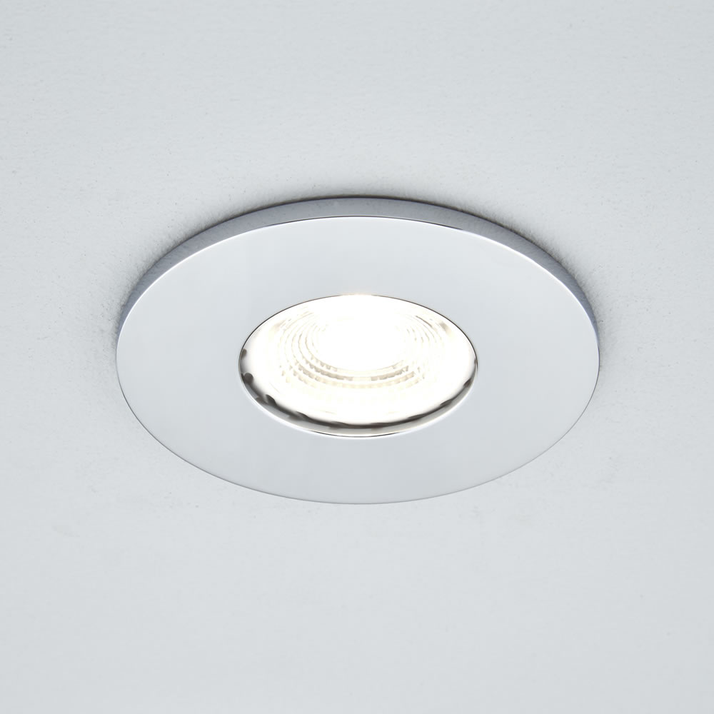 Biard IP65 Fire Rated Bathroom Downlight with Removable Bezel - Round