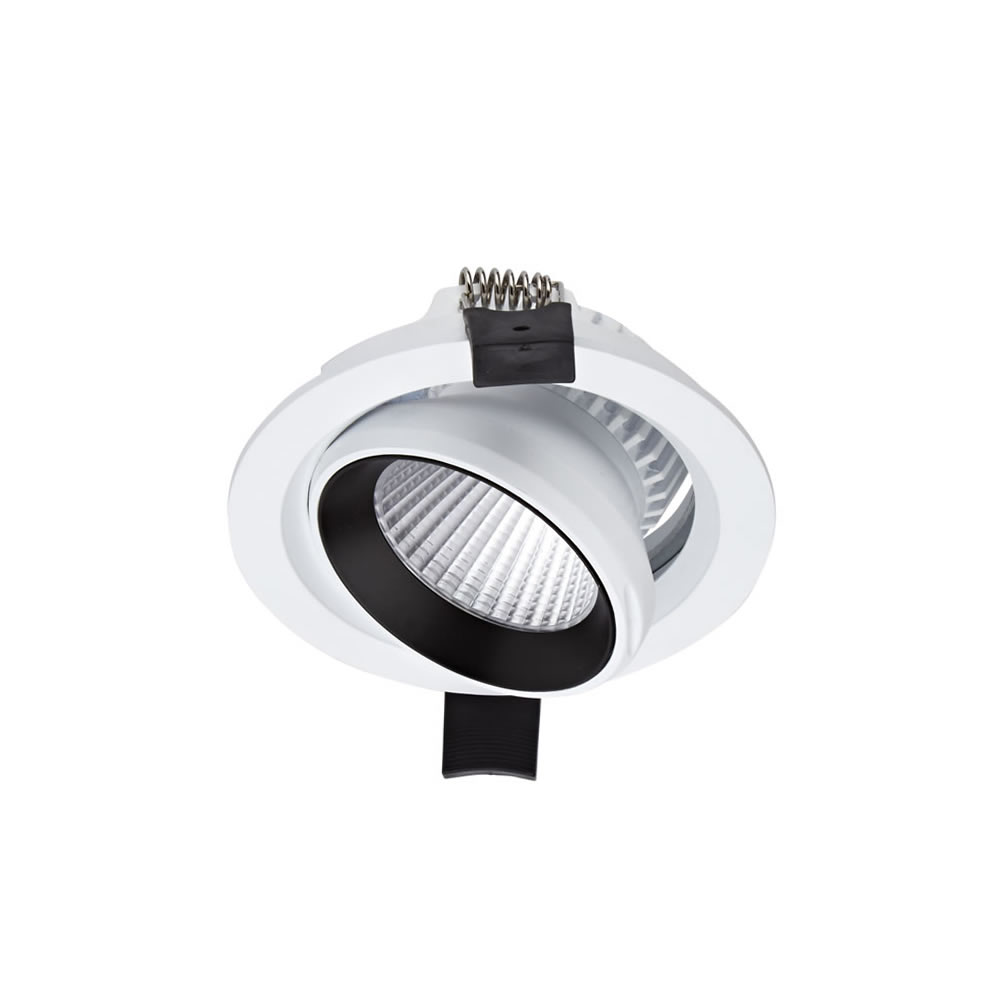 Biard LED 10W Dimmable Recessed Downlight - White