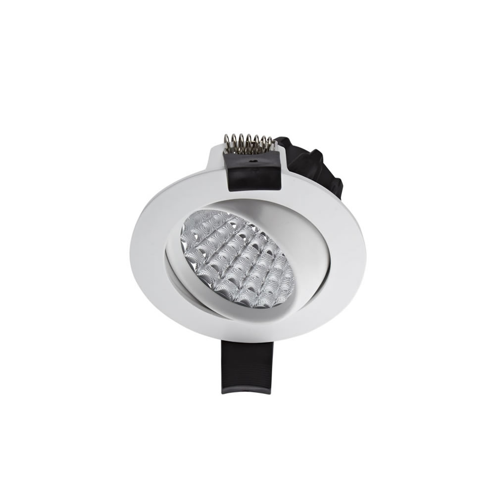 Biard LED 7W Dimmable Recessed Downlight - White