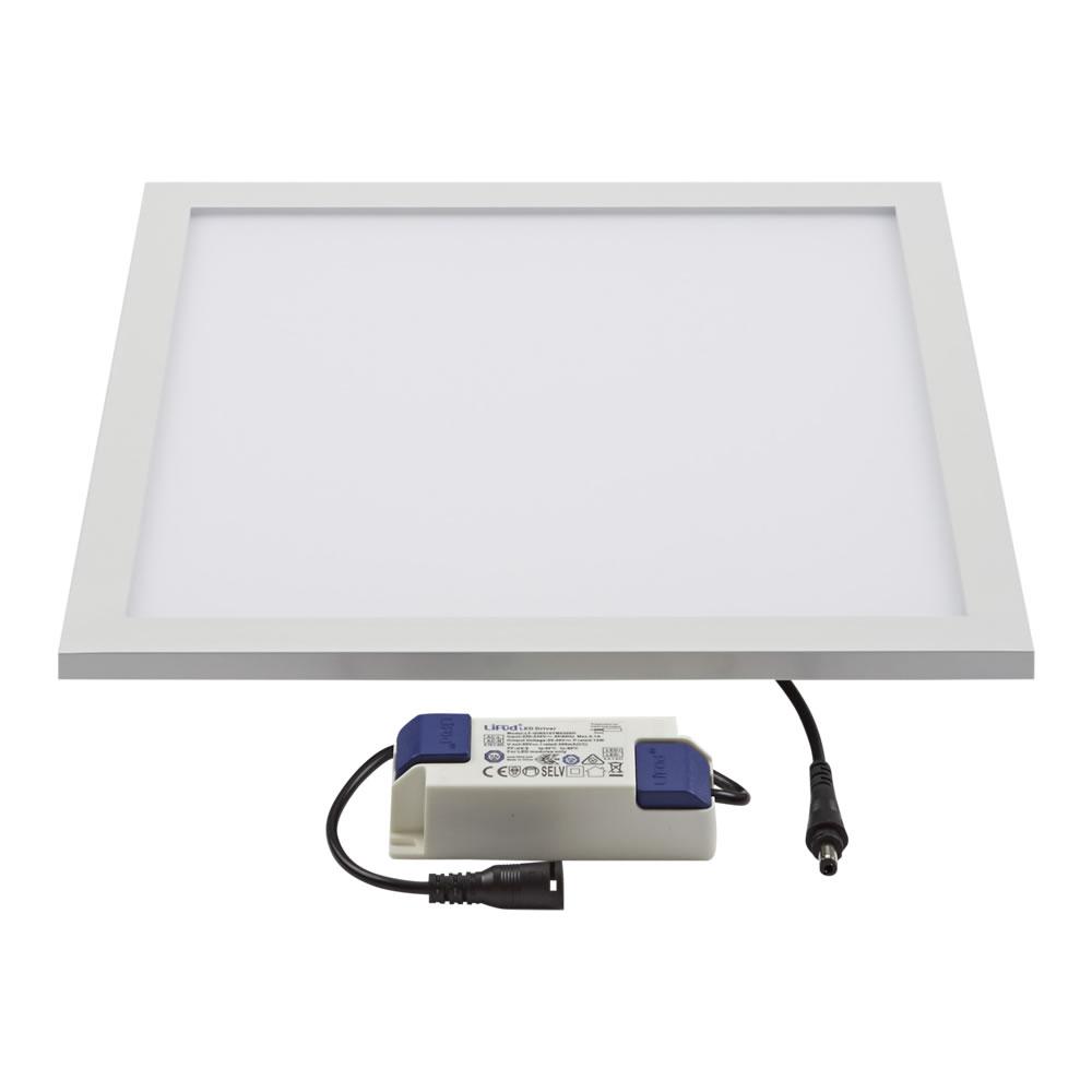 Biard LED 20W 300mm x 300mm Panel Light - White Frame