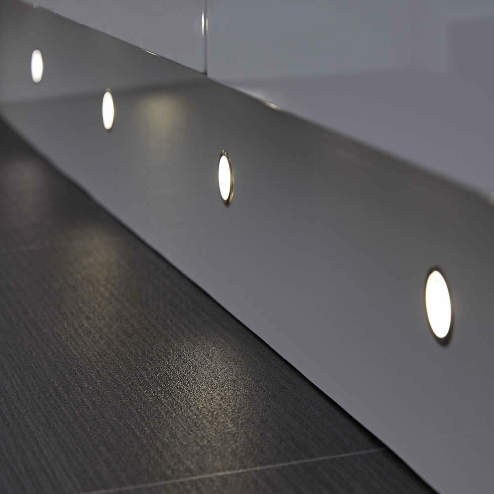Biard LED IP65 Plinth Light - 6 Pack
