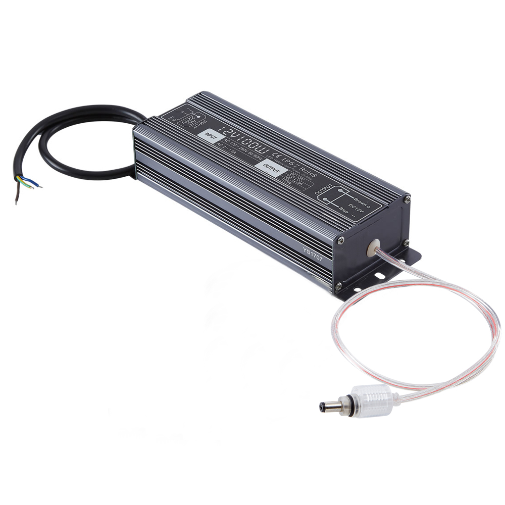 Biard 100W 12VDC Rainproof LED Driver/Transformer