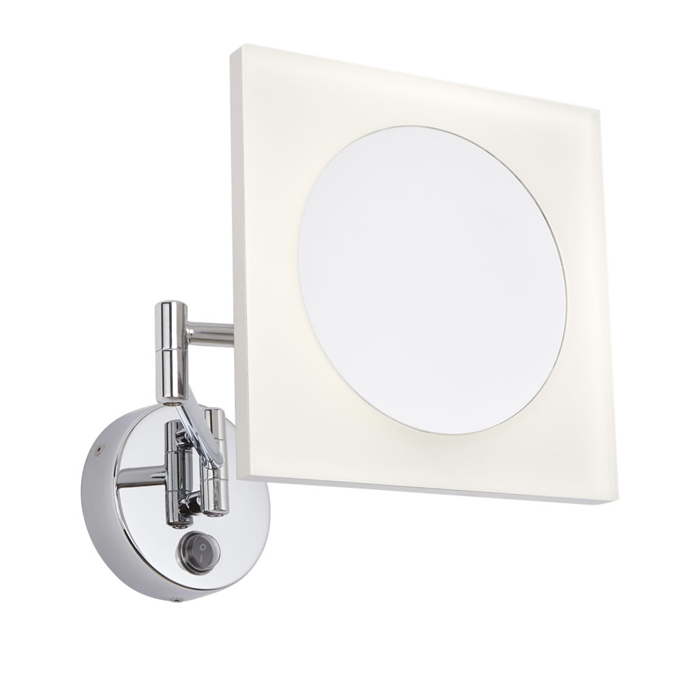 Milano Teifi - LED Shaving Mirror - Square