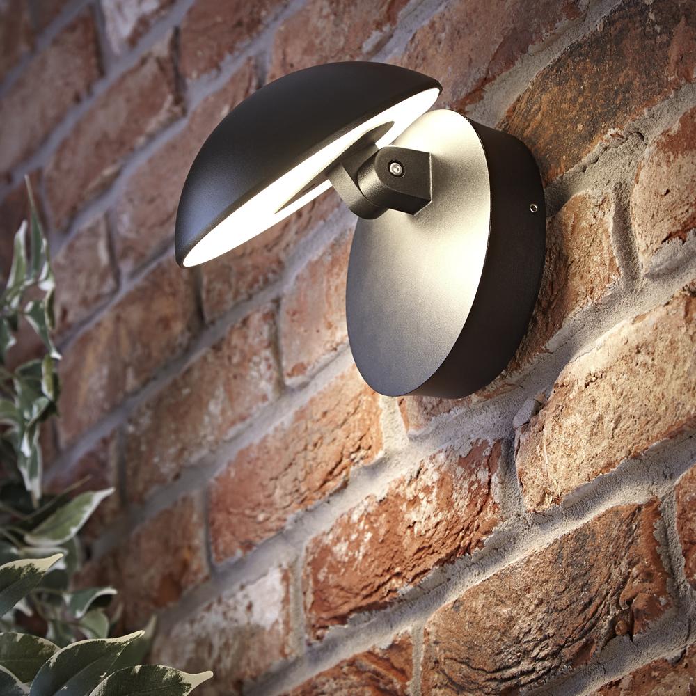Biard Piombino Adjustable LED Wall Light - Black