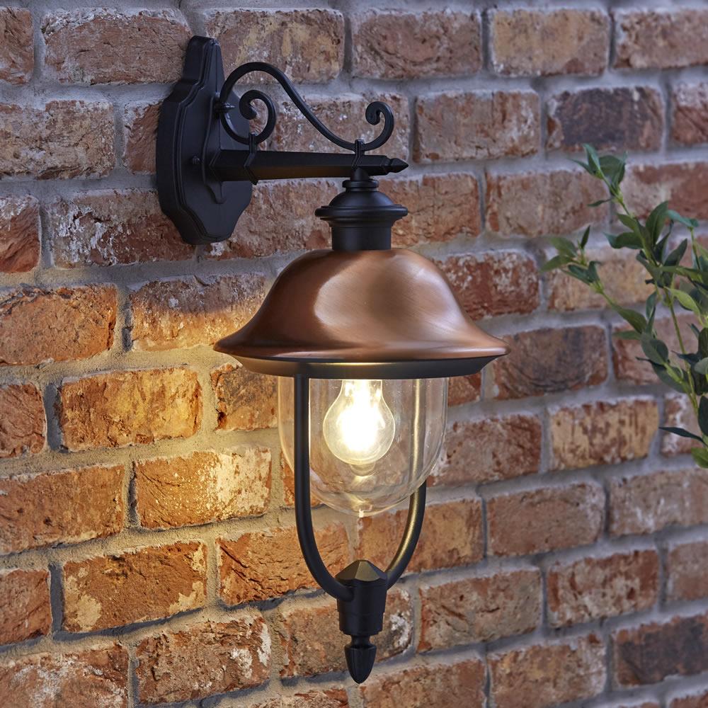 Biard Verona IP44 Hanging Helm Lantern