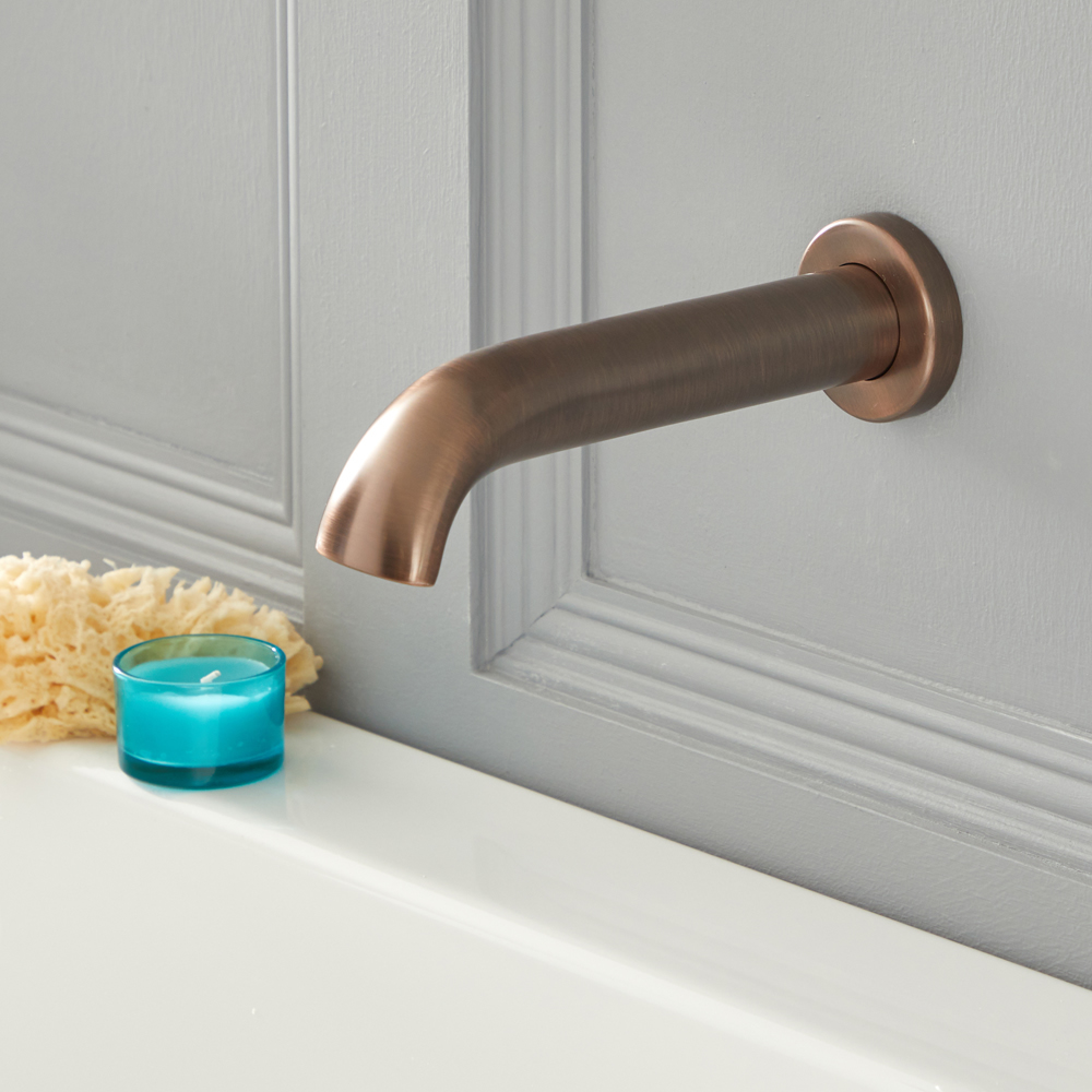 Milano Elizabeth - Traditional Wall Mounted Bath Spout - Oil Rubbed Bronze