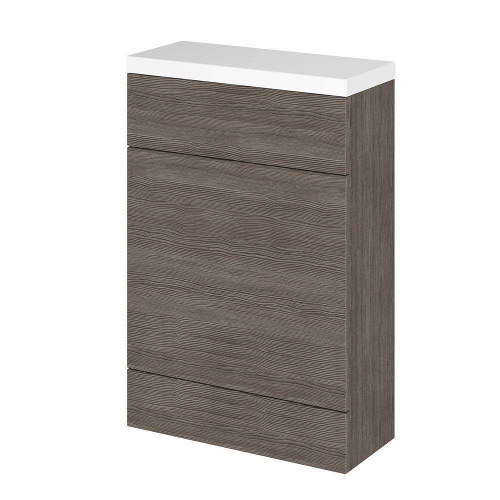 Hudson Reed Grey Brown Avola WC Unit 500mm x 235mm