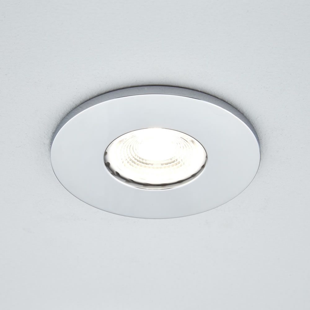 brand new e5d0e 4588c Biard IP65 Fire Rated Bathroom Downlight with Removable Bezel - Round