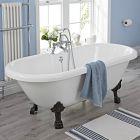 Milano 1800mm Freestanding Bath
