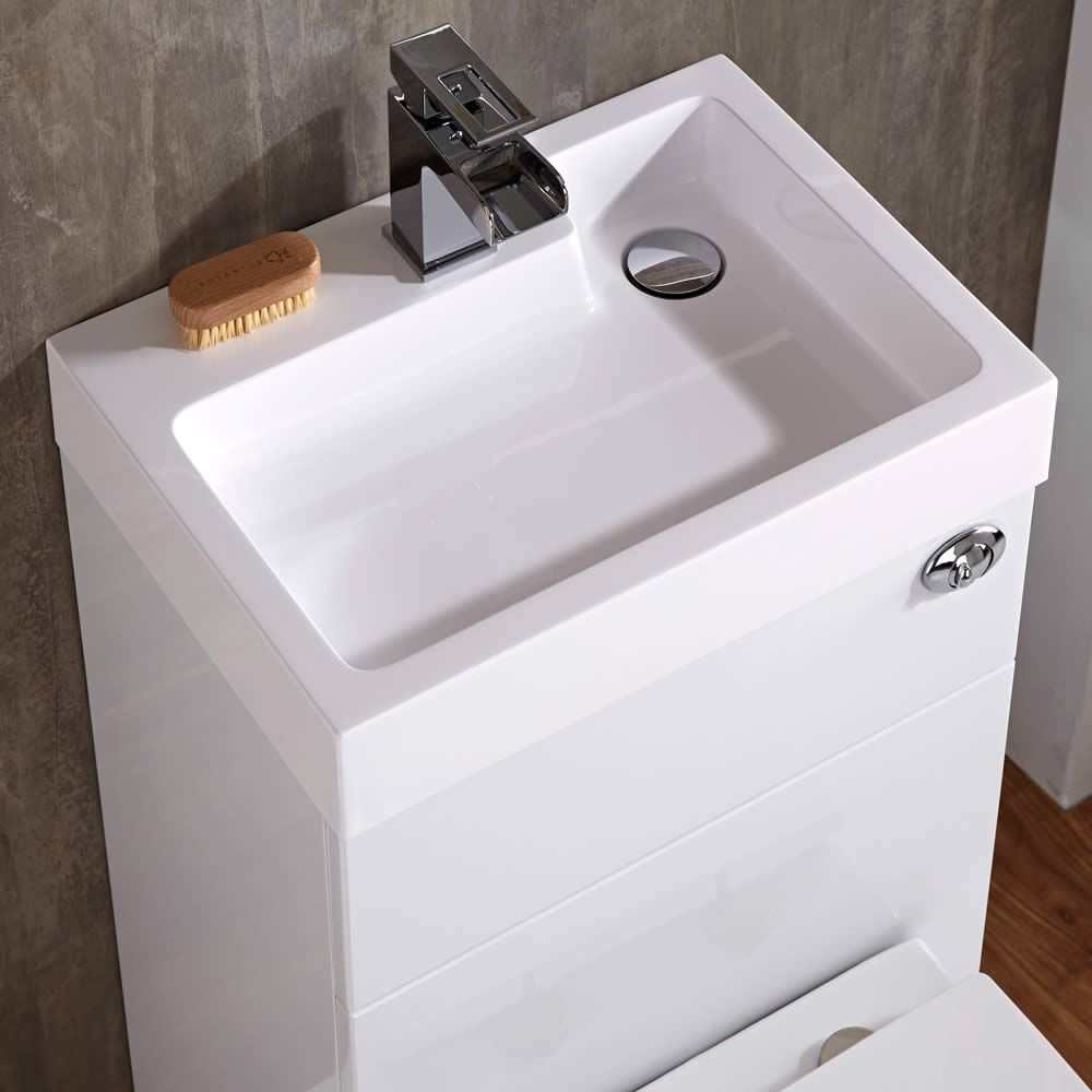 Milano Harrison Combination Toilet Amp Basin Unit