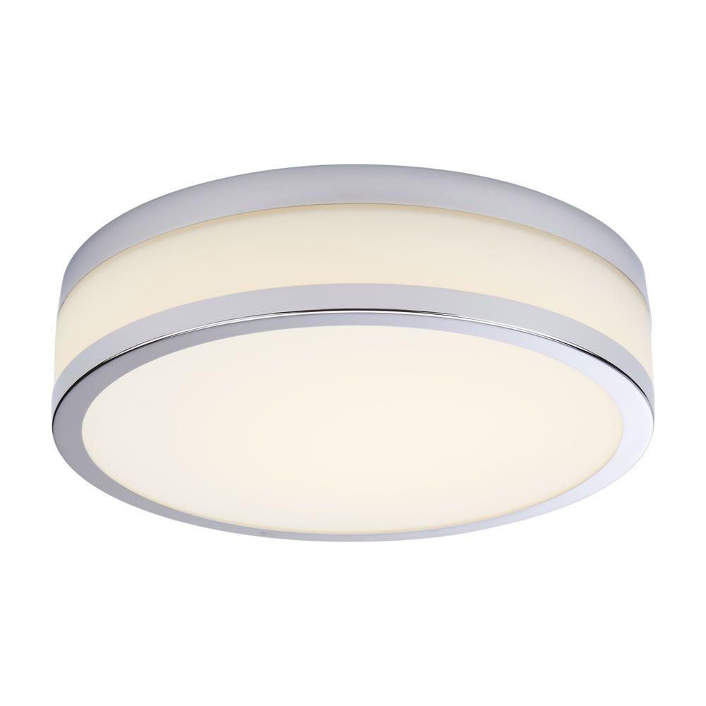 Milano Enns LED Bathroom Ceiling Light 290