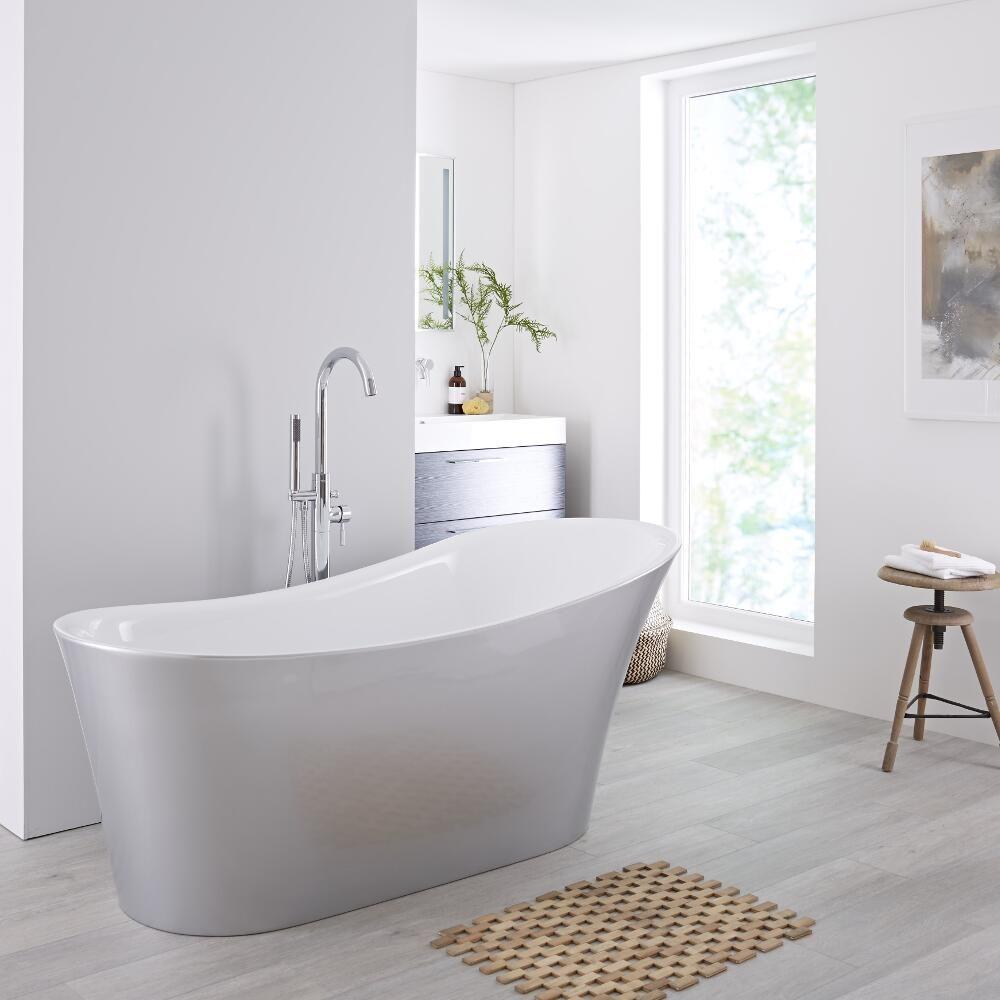 Spa Bathroom: Milano Select Freestanding Slipper Bath