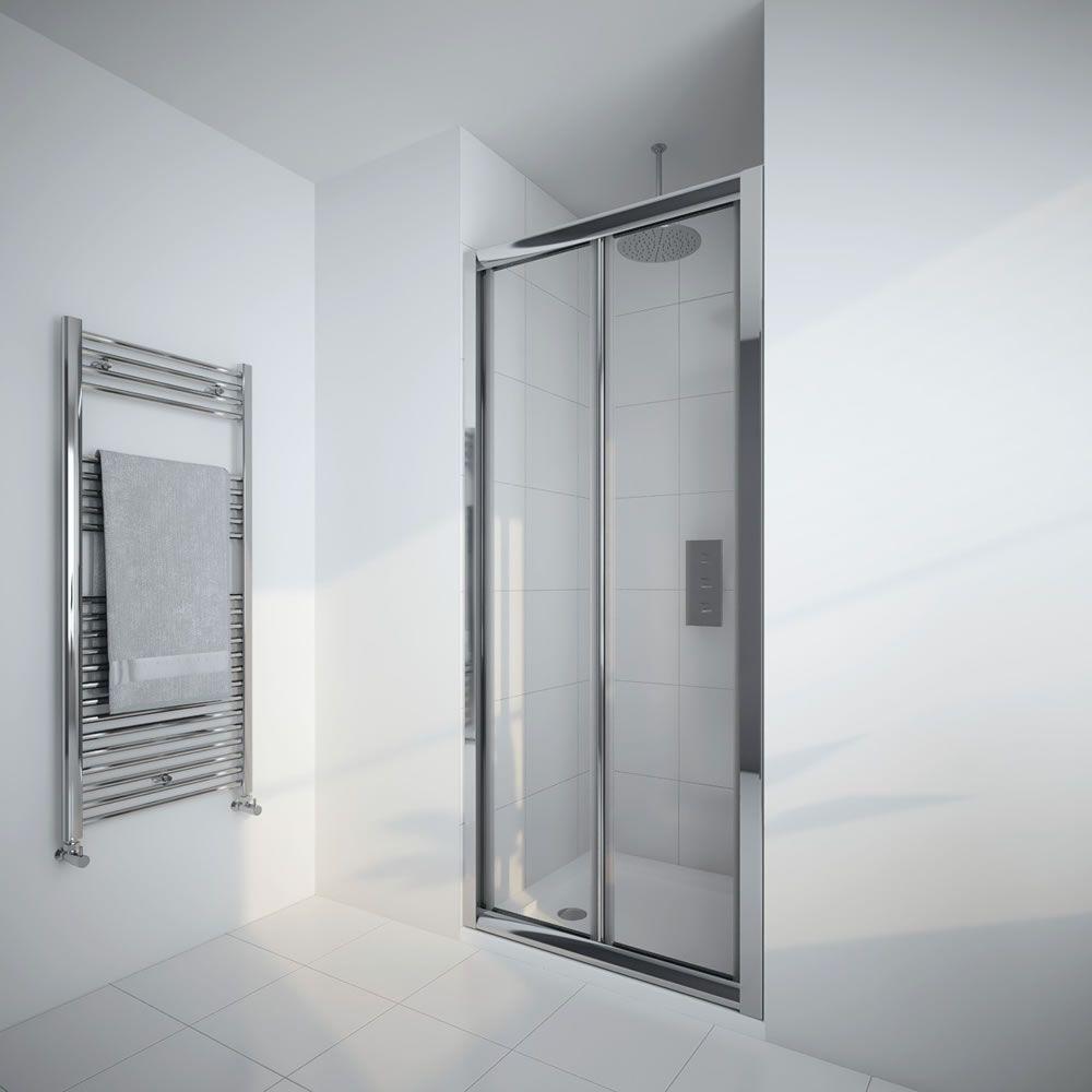 Milano Portland 800mm Bi Fold Shower Door