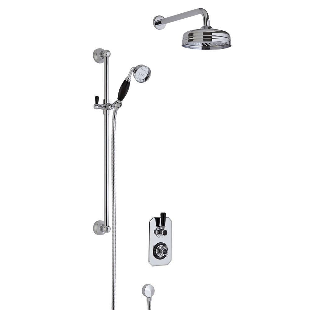 Hudson Reed Twin Two Outlet Traditional Shower with Head and Slide ...