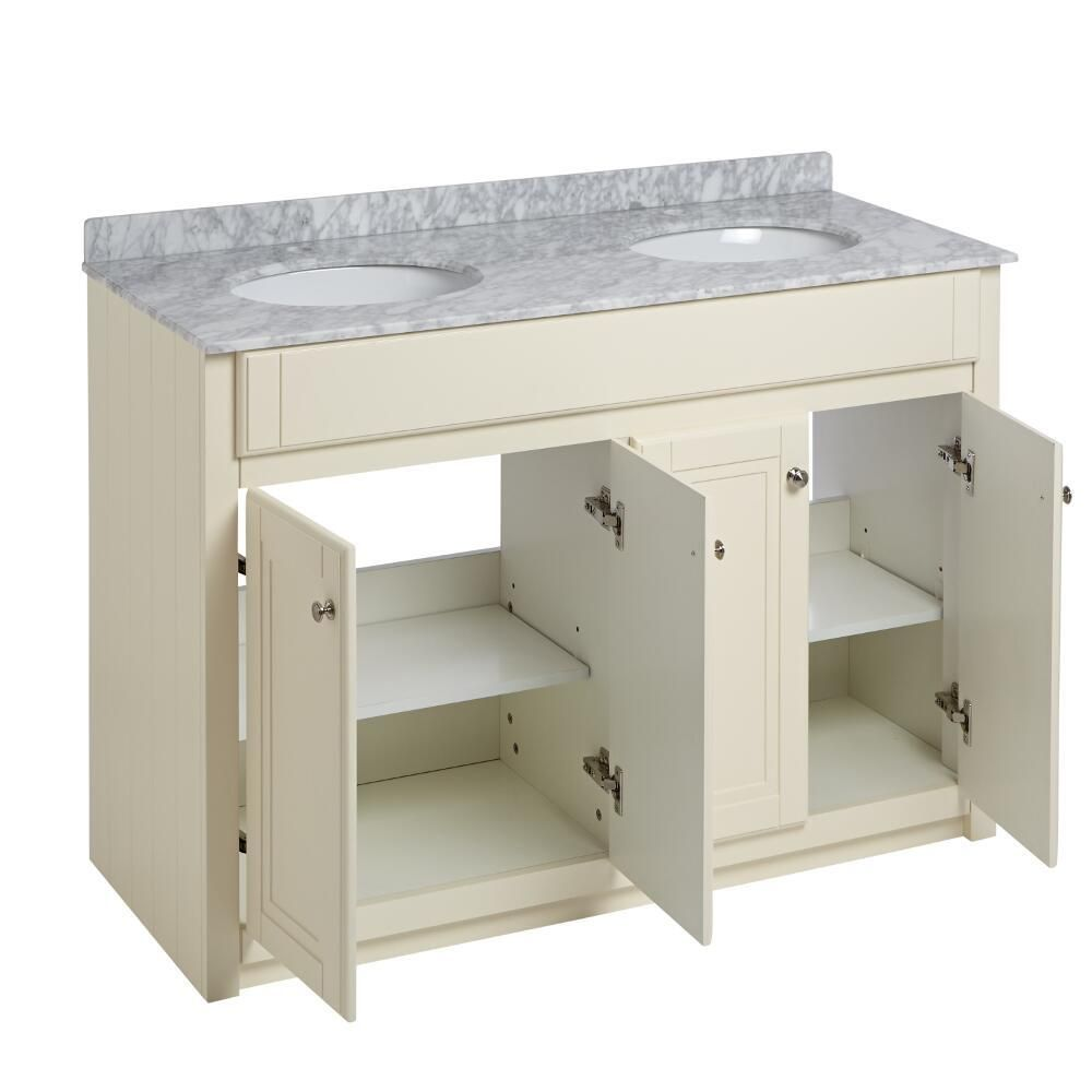 Milano Edgworth 1200mm Traditional Vanity Unit With Double