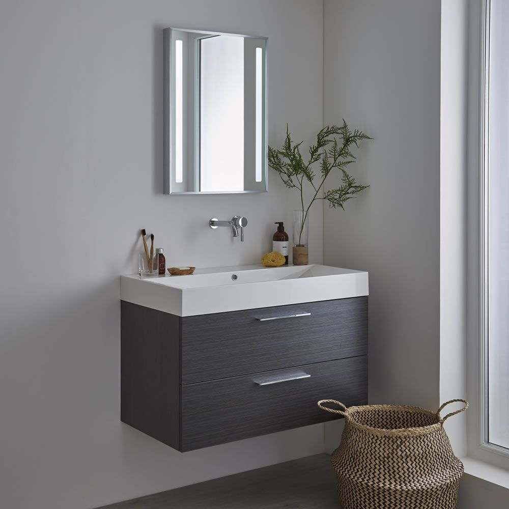 Milano Tagus - LED Bathroom Mirror with Demister