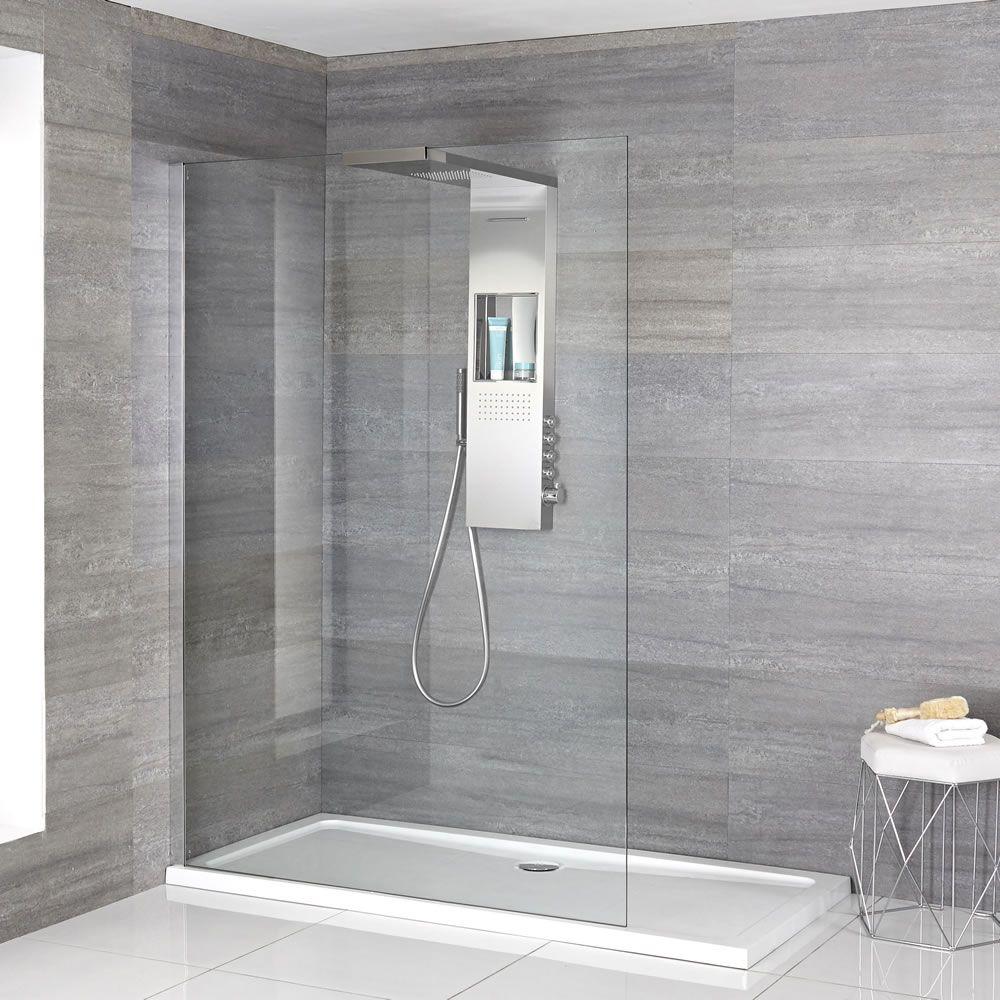 Milano Vaso Complete Walk In Shower Enclosure With