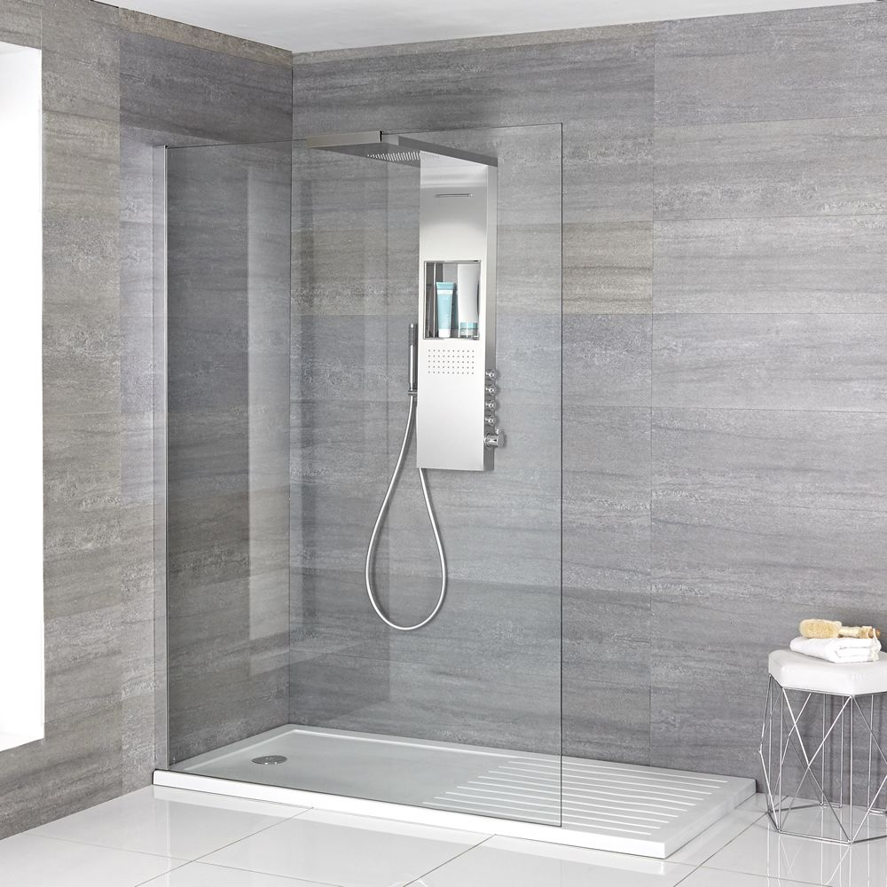 Complete Walk-In Shower Enclosure With Walk