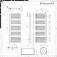 Lazzarini Way Grando - Anthracite Designer Heated Towel Rail - 1600mm x 600mm