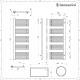 Lazzarini Way Grando - Chrome Designer Heated Towel Rail - 1600mm x 600mm