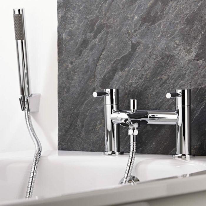 Milano Mirage Chrome Bath Shower Mixer Tap