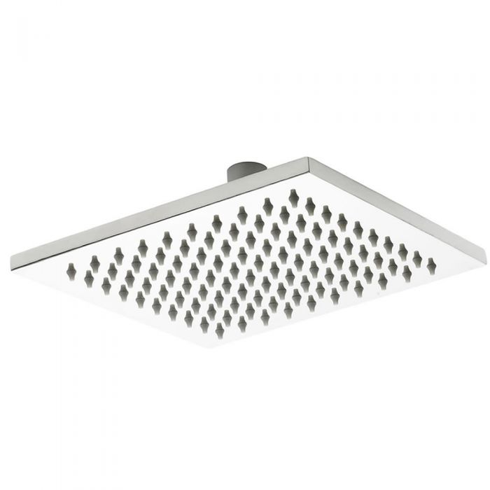 Milano 300mm x 300mm Square Polished Stainless Steel Shower Head