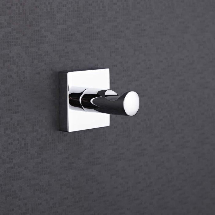 Milano Liso Chrome Single Hook