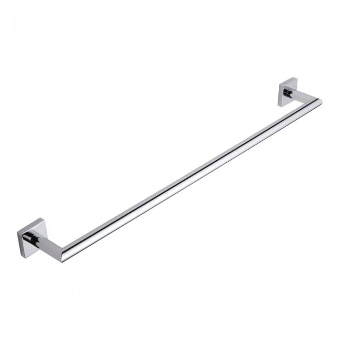 Milano Liso Chrome Towel Bar Rail