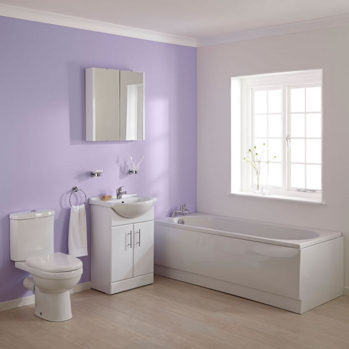 Premier 1700mm Ivo Vanity Bathroom Suite