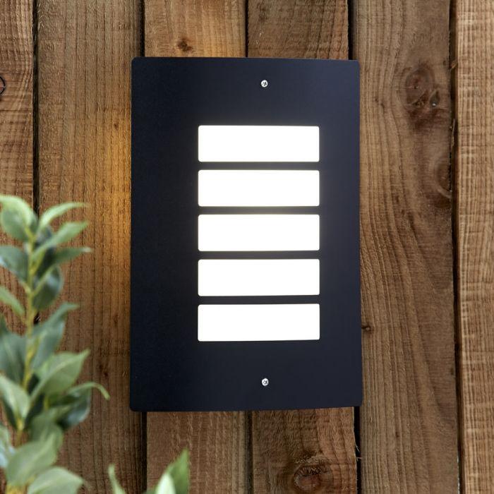 Biard Orleans Outdoor Wall Light - Black