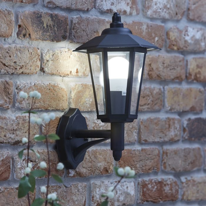 Biard Cannes Outdoor Wall Lantern - Black