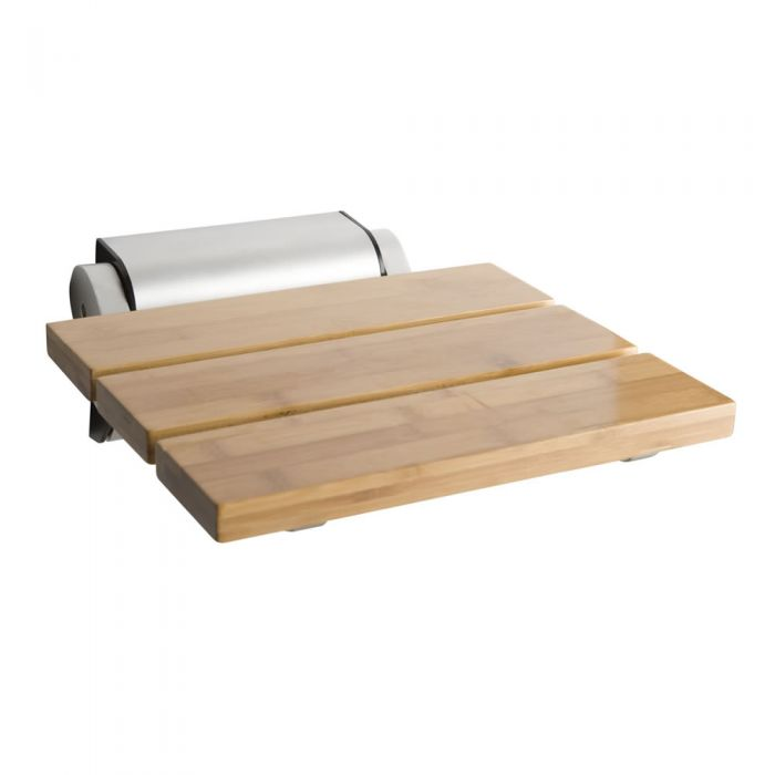 Milano Bamboo Folding Shower Seat