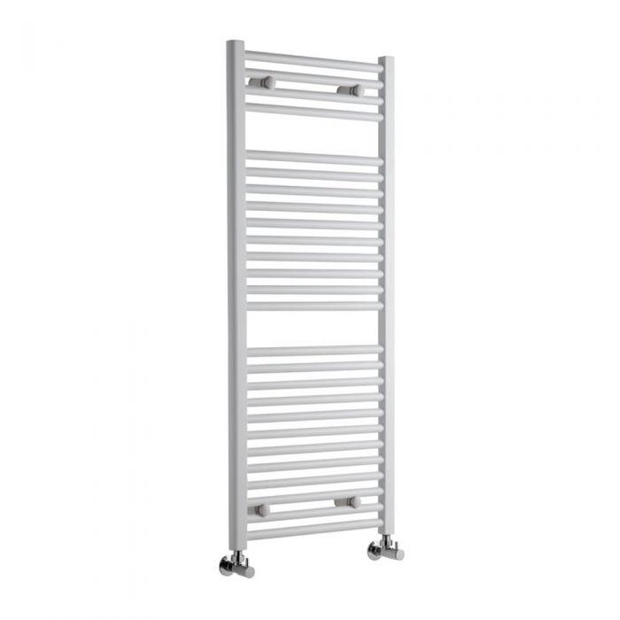 Sterling Premium White Flat Heated Towel Rail 1200mm x 500mm