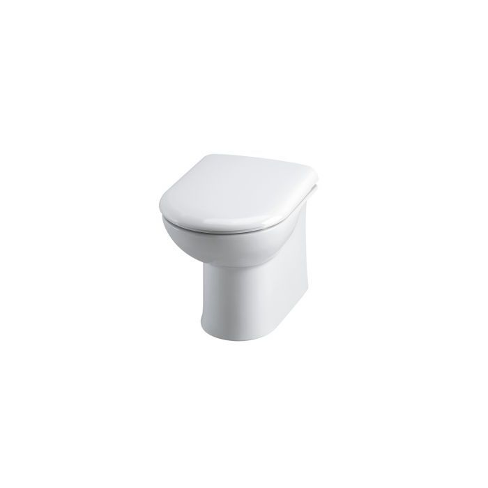 Premier Linton Back To Wall Toilet Pan & Soft Close Seat