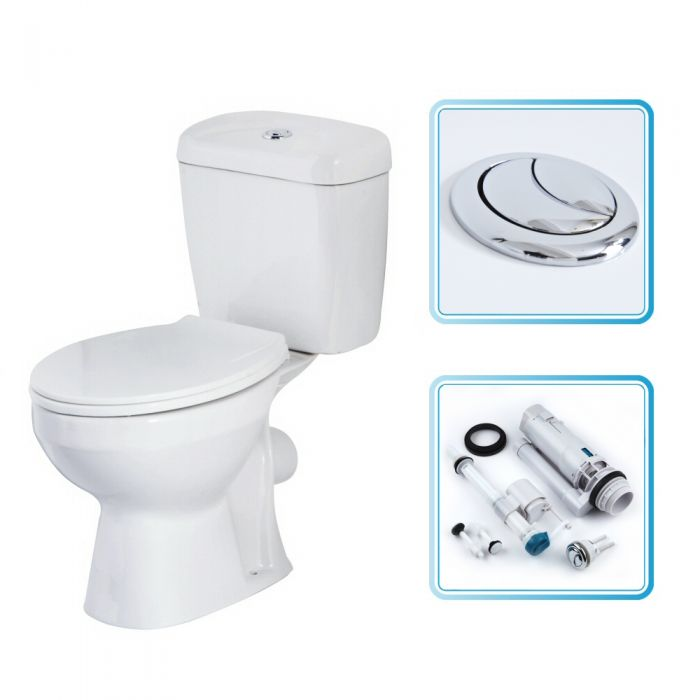 Milano Select Toilet, Cistern and Seat
