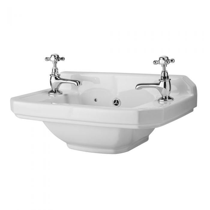 Old London Richmond 515mm Cloakroom Basin 2TH