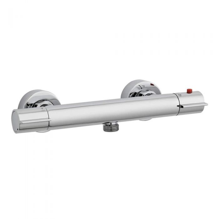 Ultra Slim Line Thermostatic Bar Valve Bottom Outlet