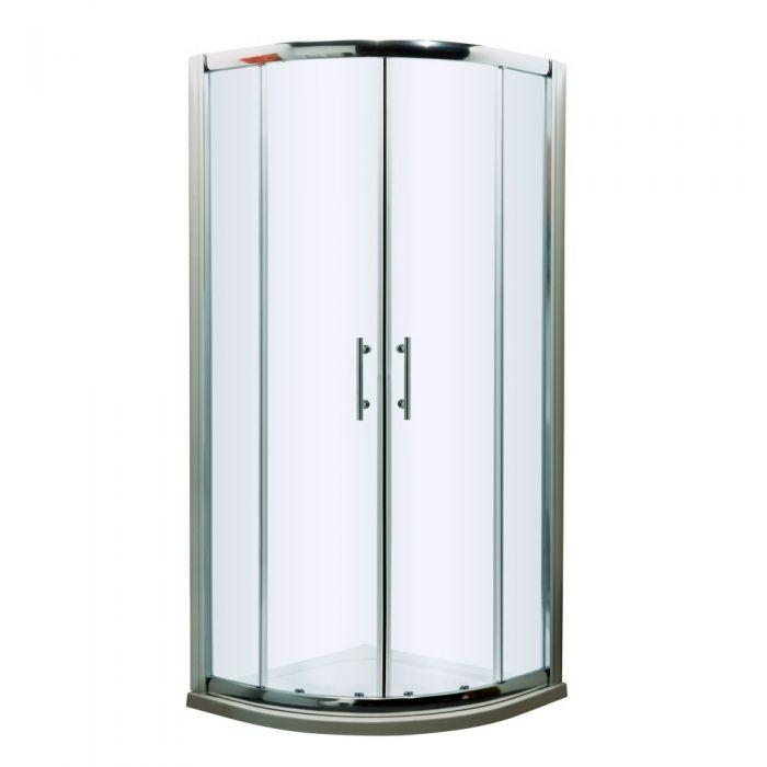 Premier Apex 900mm Quadrant Shower Enclosures Easy Fit - 8mm Glass
