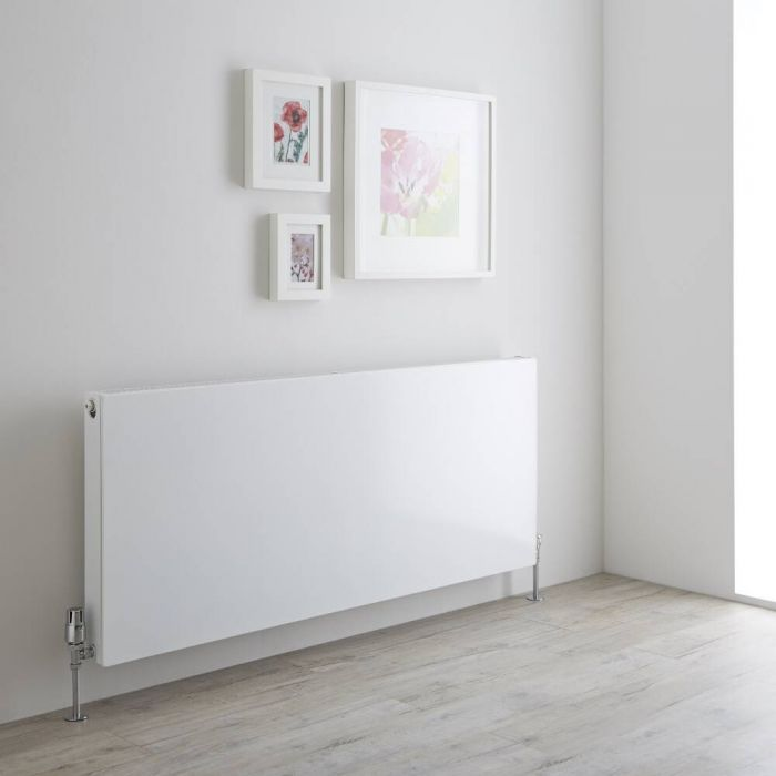 Milano Mono - Double Flat Panel Plus Convector Radiator - 600mm x 1400mm (Type 21)