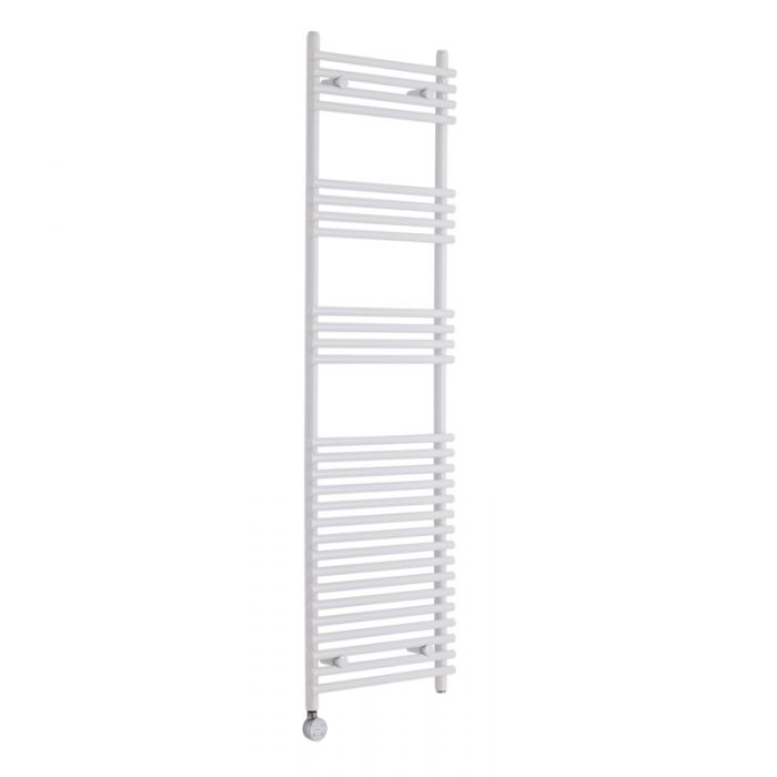 Kudox Electric - Flat White Bar on Bar Towel Rail - 1650mm x 450mm