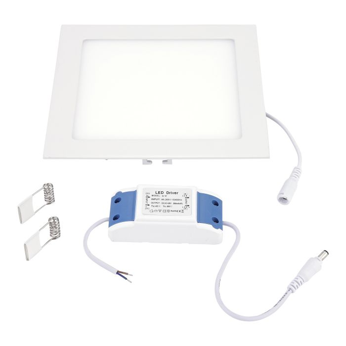Biard 15W LED Square Bathroom Panel Light