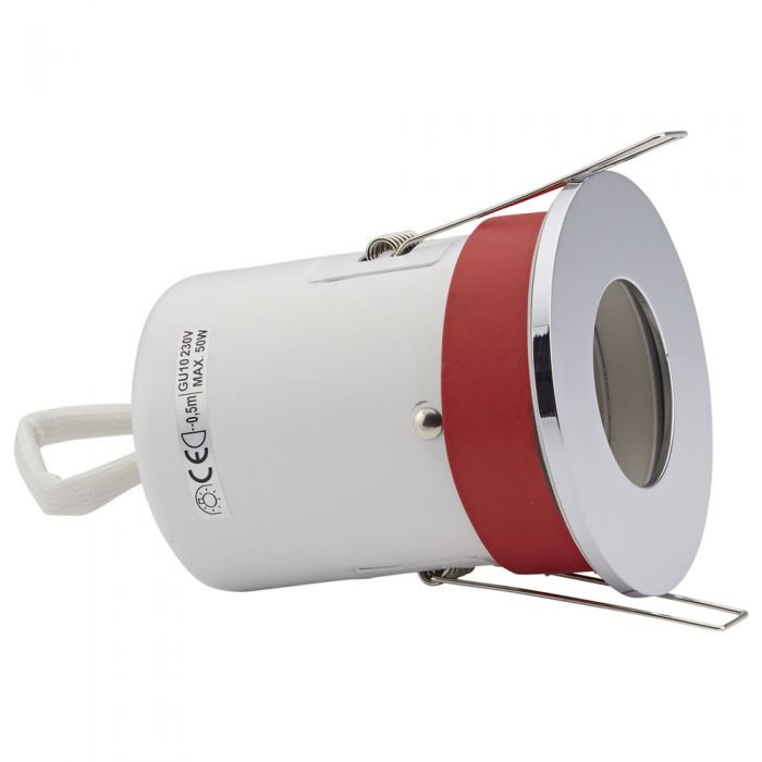 Biard IP20 Fire Rated Downlight with Removable Bezel - Round