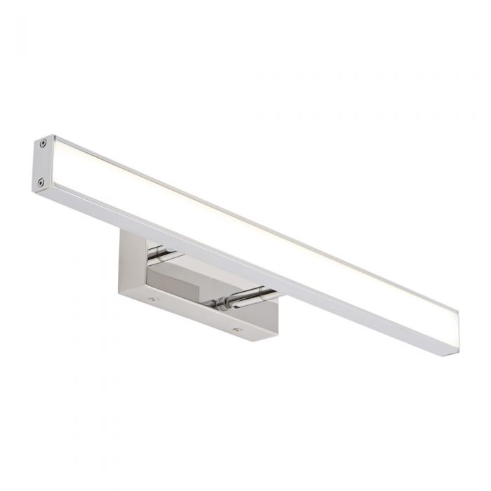 Biard Parade Adjustable LED Chrome Bathroom Over Mirror Light