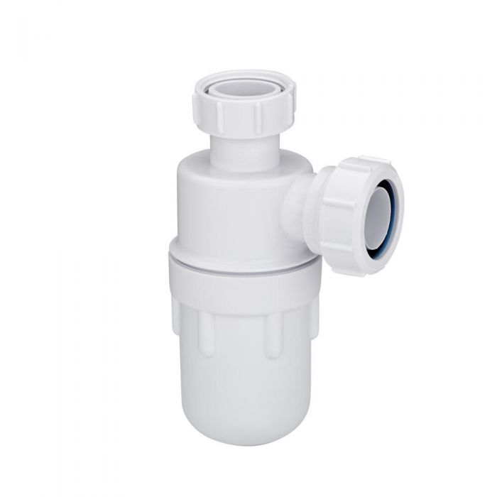"McAlpine 1-1/4"" Plastic Bottle Trap"