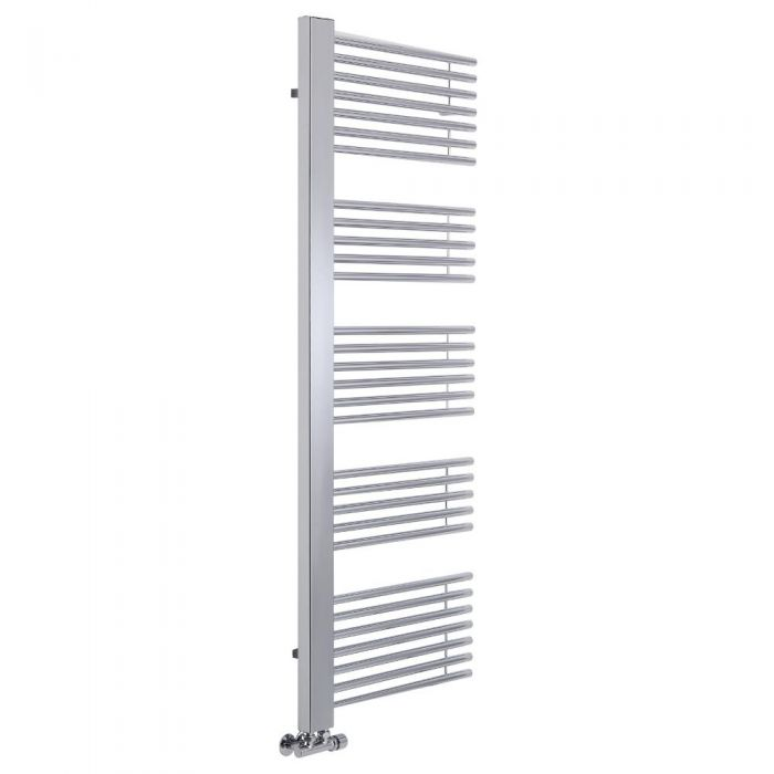 Lazzarini Way - Grado - Chrome Designer Heated Towel Rail - 1600 x 600mm