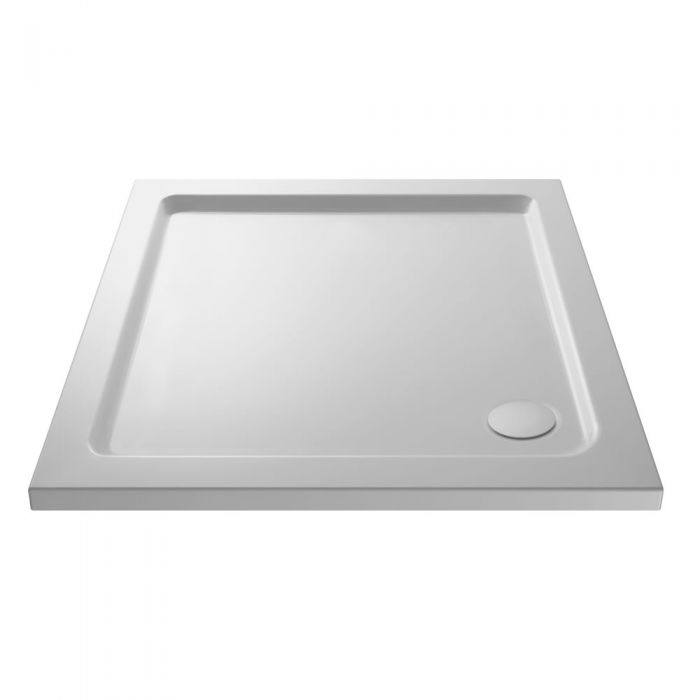 Pearlstone Square shower tray 700 x 700mm