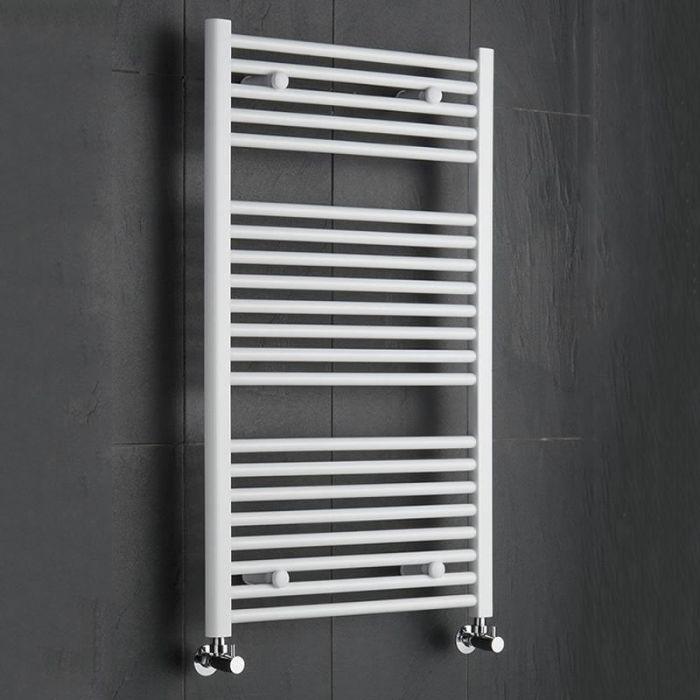 Sterling Premium White Flat Heated Towel Rail 1000mm x 600mm
