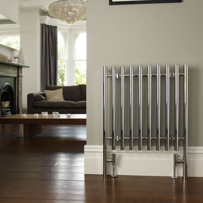 Kudox - Designer Radiator Chrome 800mm x 600mm